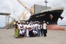 Visite de l'assemnblée Nationale, du port Autonome d'Abidjan, du pont HKB, du stade Felix Houphouet Boigny, de l'université Felix Houphouet Boigny
